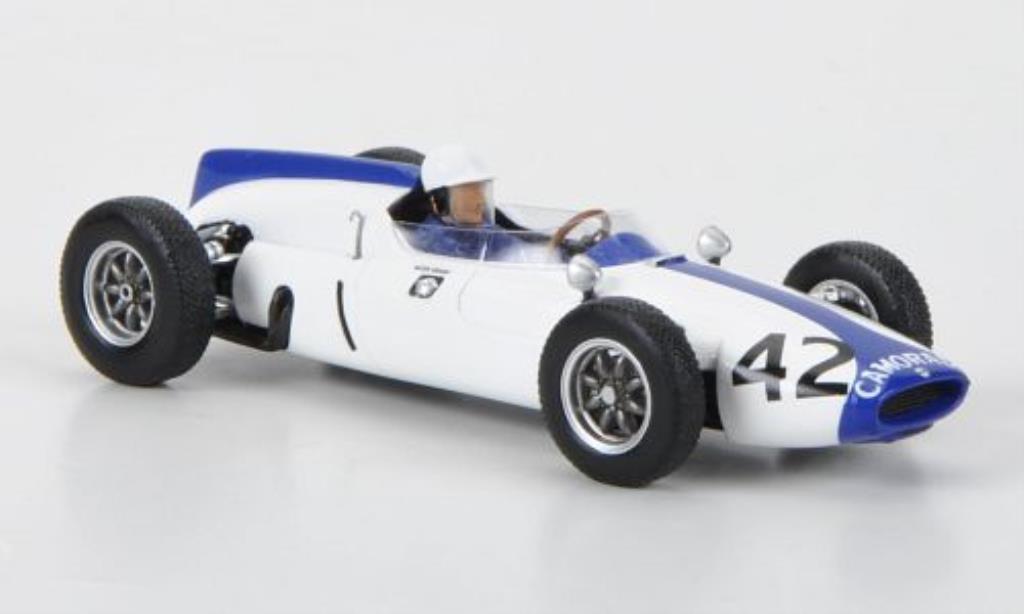Cooper T53 1/43 Spark No.42 M.Gregory GP Grossbritannien 1961 miniature
