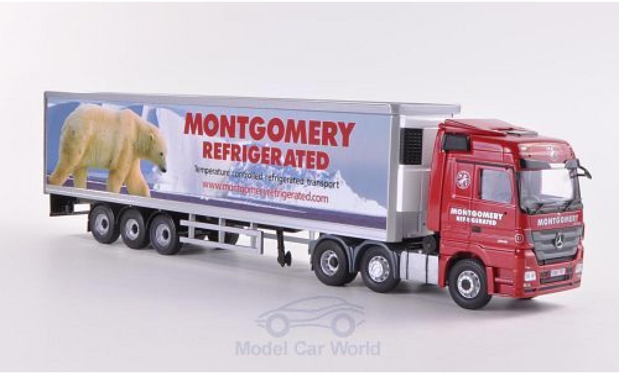 Mercedes Actros 1/50 Corgi Montgomery Refrigerated Kühlkoffer-SZ