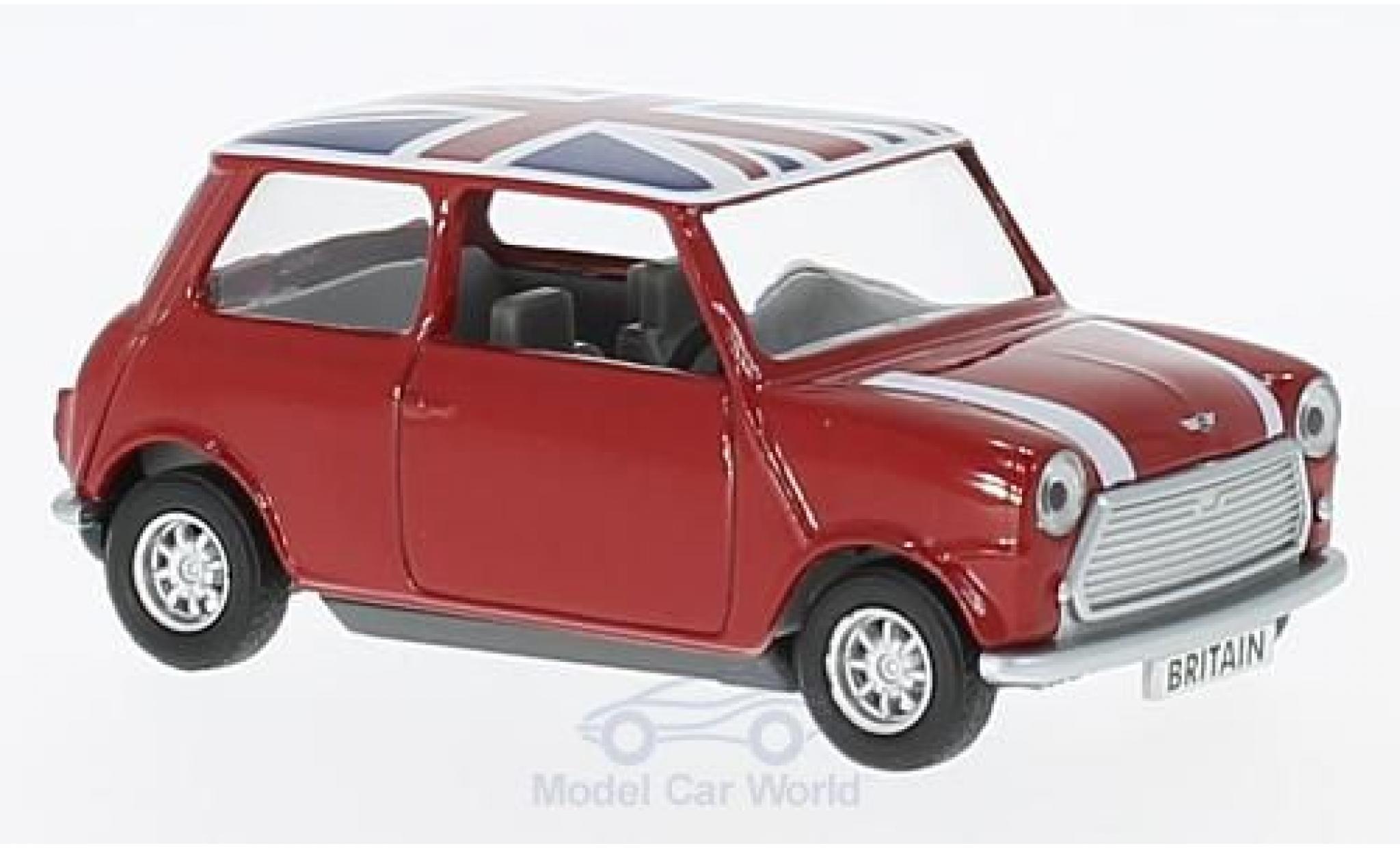 Mini Cooper 1/0 Corgi rouge/Dekor RHD