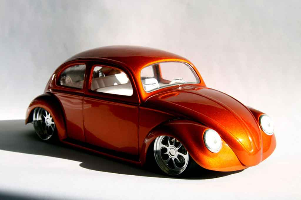 Volkswagen Kafer 1/18 Solido cox california orange bud tuning miniature