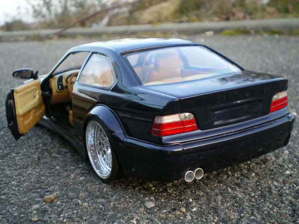 Bmw M3 E36 Gtr Blue Wheels Larges Ut Models Diecast Model