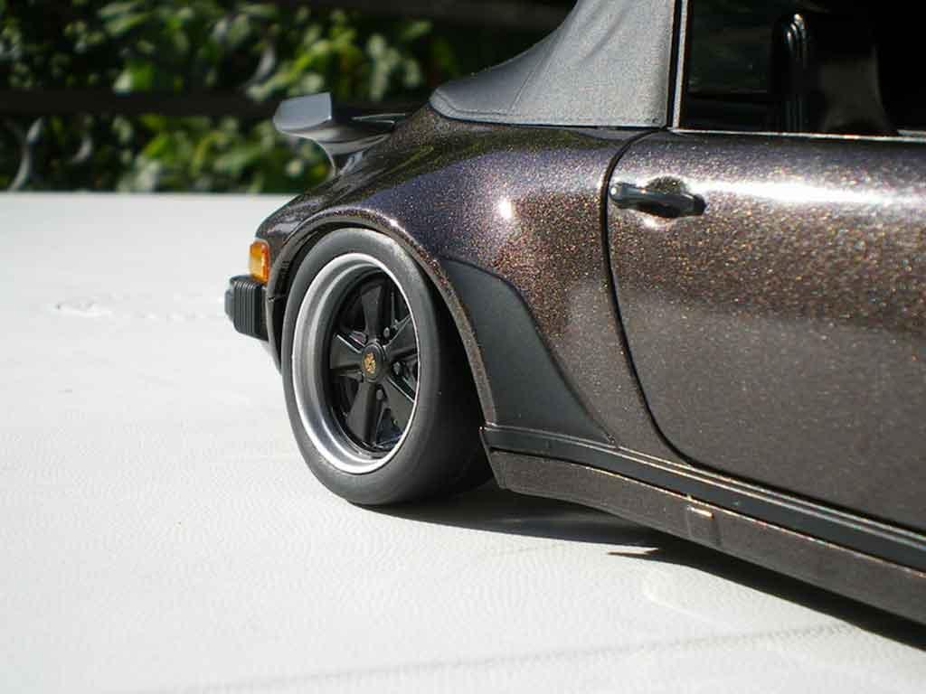 Porsche 911 Turbo 1/18 Norev 3.3 cabriolet