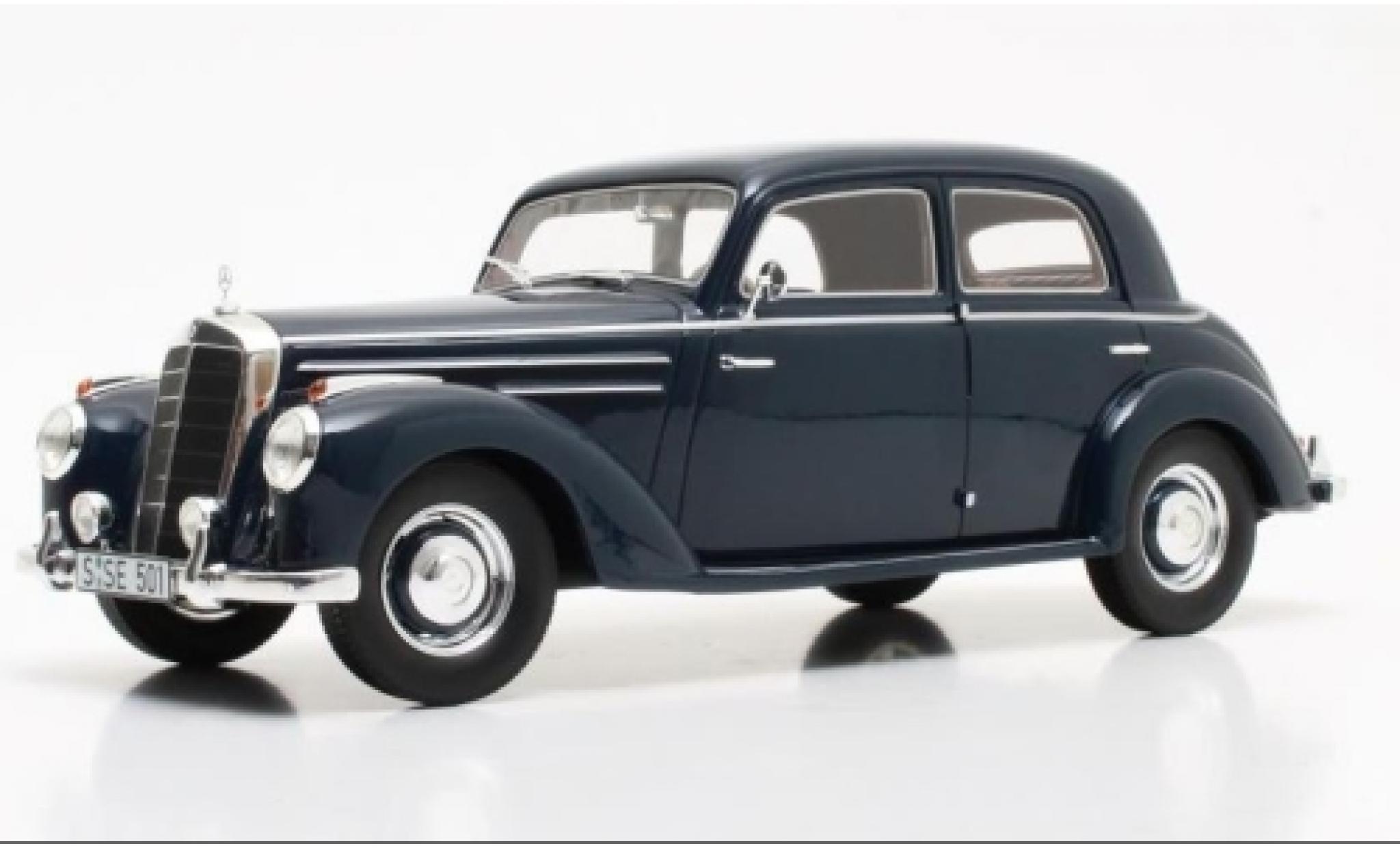 Mercedes 220 1/18 Cult Scale Models (W187) bleue 1953