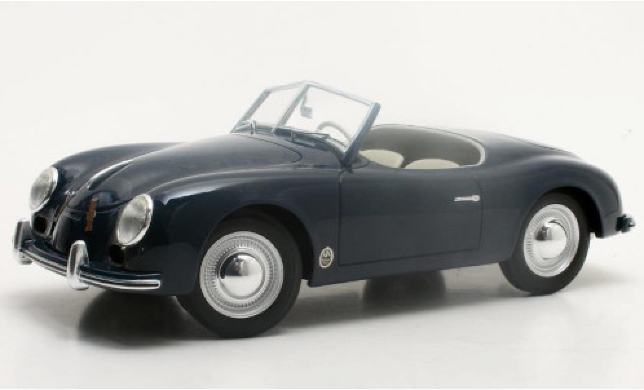 Porsche 356 1/18 Cult Scale Models America Roadster bleue 1952