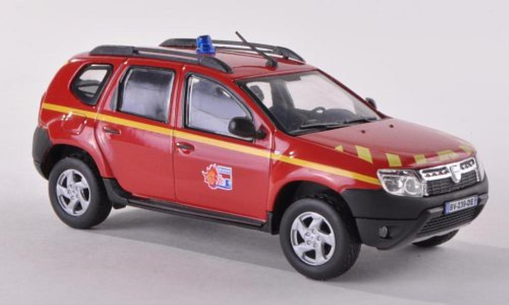 dacia duster miniature vl pompiers 2010 solido 1 43 voiture. Black Bedroom Furniture Sets. Home Design Ideas