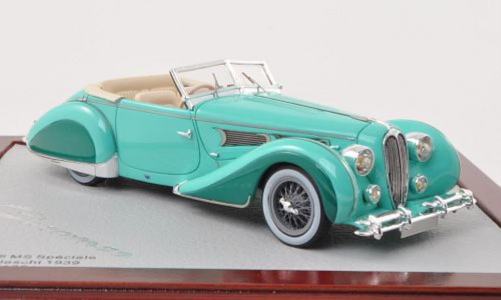 Delahaye 135 1/43 Chromes MS Cabrio Figoni & Falaschi mint-grun 1939 miniature