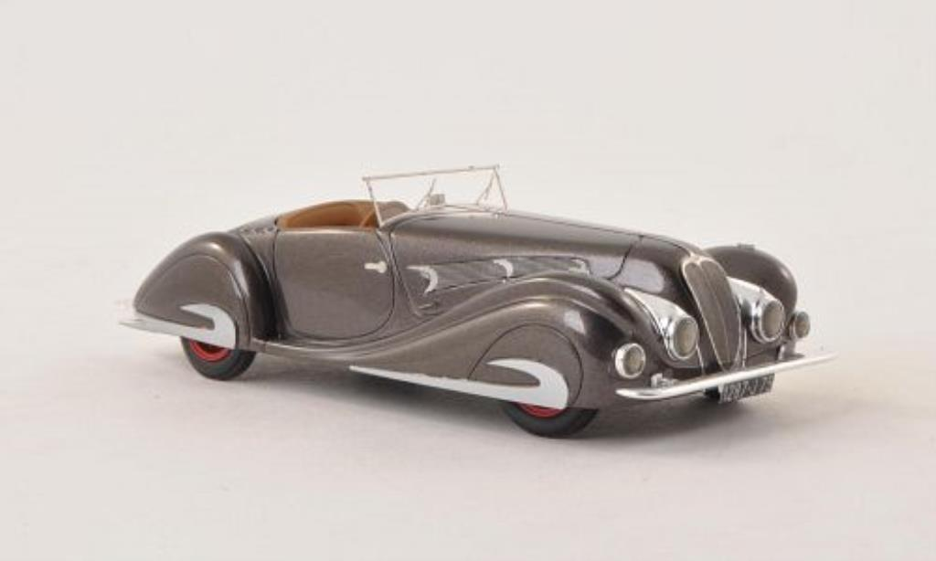 Delahaye 135 1/43 Nickel MS Competition Roadster Figoni & Falaschi grise 1937 miniature