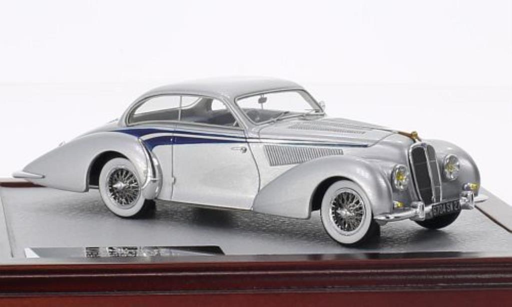 Delahaye 135 1/43 Chromes MS Coupe Langenthal grise/bleu 1947 miniature