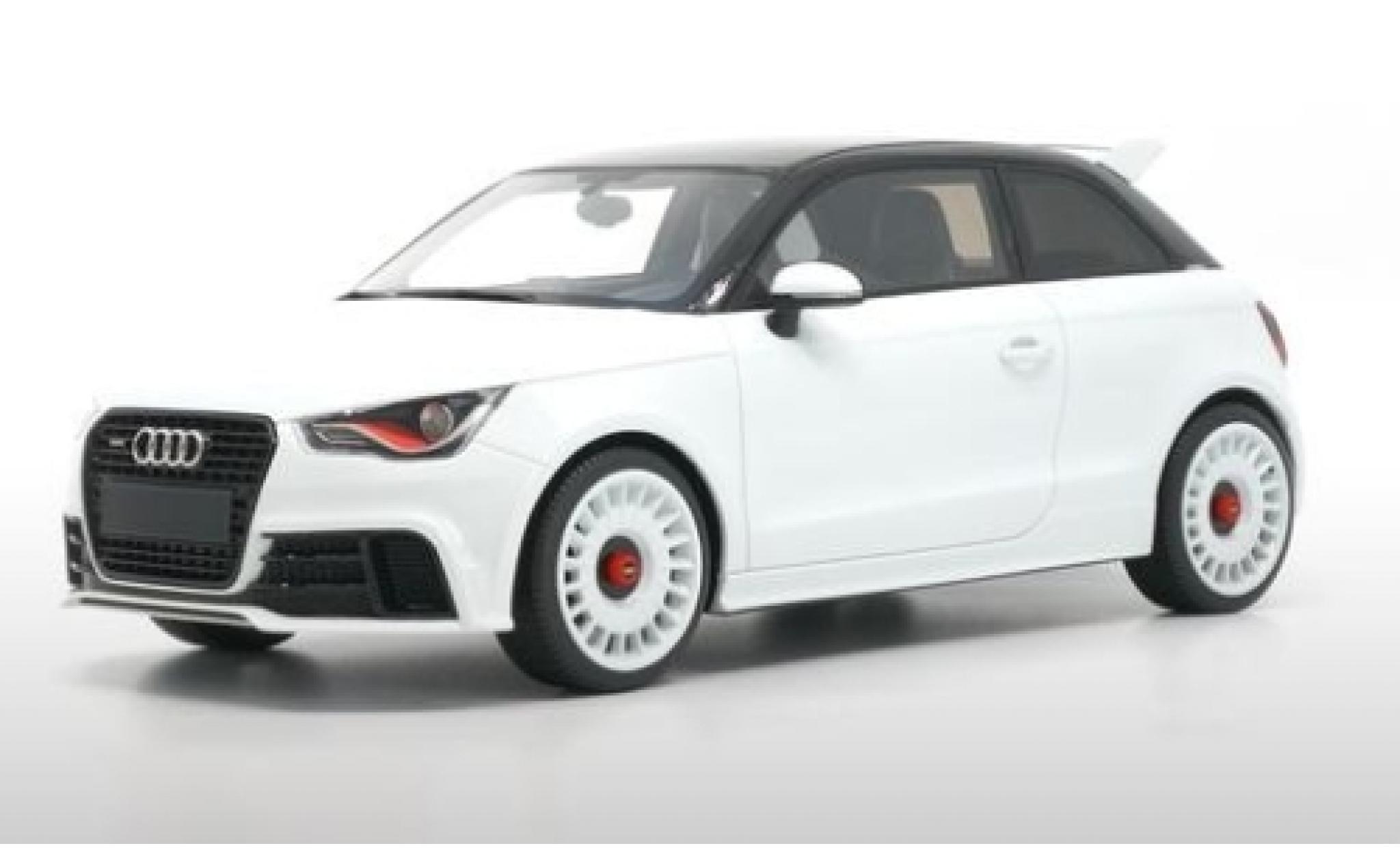 Audi A1 1/18 DNA Collectibles quattro metallise white/black 2012