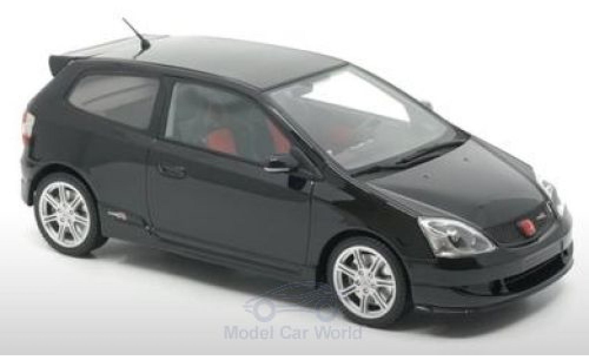 Honda Civic 1/18 DNA Collectibles Type-R (EP3) noire 2004