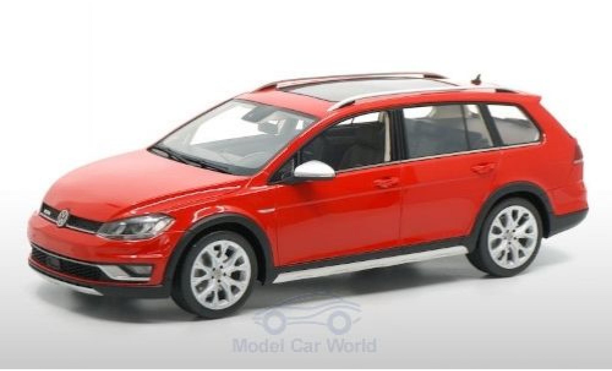 Volkswagen Golf 1/18 DNA Collectibles VII Alltrack red 2015