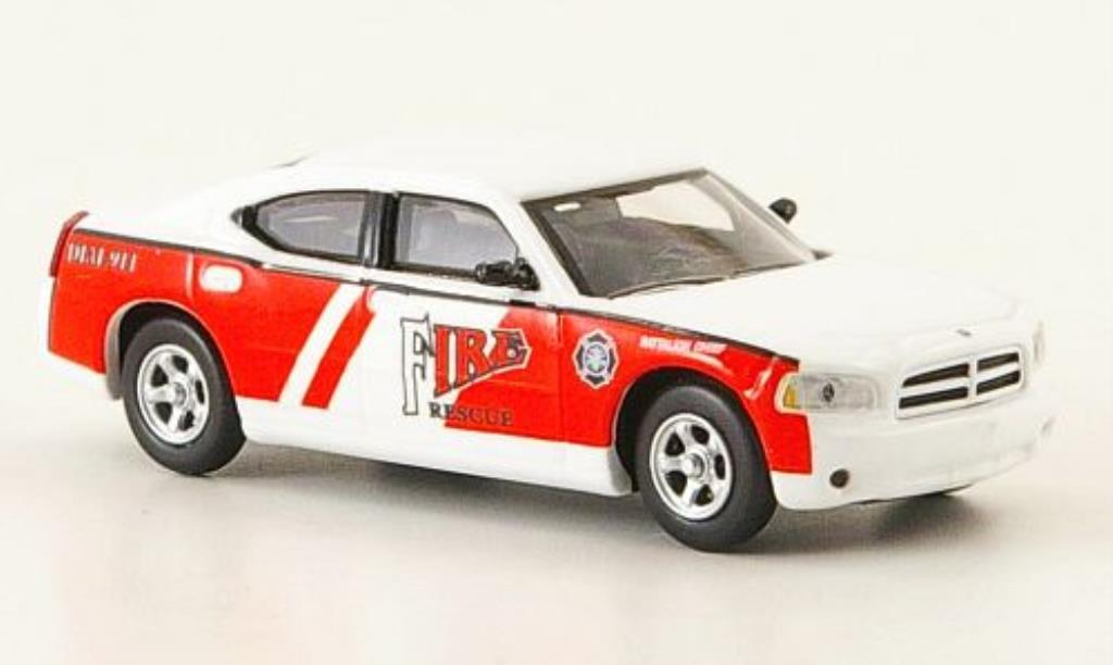 Dodge Charger 1/87 Ricko Fire Rescue Battalion Chief Feuerwehr miniature