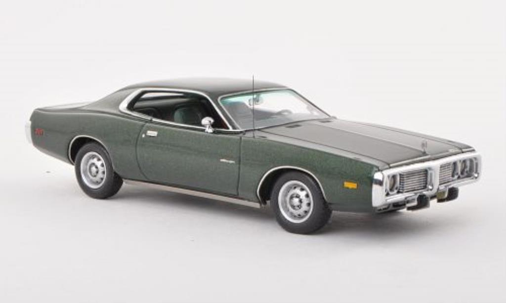 Dodge Charger 1/43 Neo green 1973 diecast
