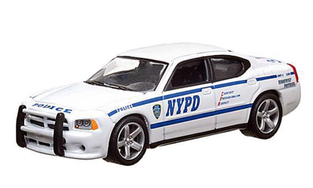 Dodge Charger 1/64 Greenlight NYPD Polizei (USA) 2010 miniature