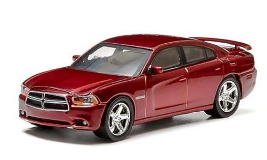 Dodge Charger 1/64 Greenlight R/T rouge 2014 miniature