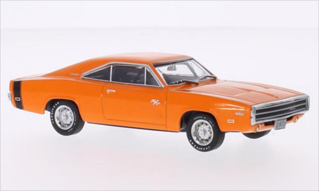 Dodge Charger 1/43 Greenlight R/T orange 1970 miniature