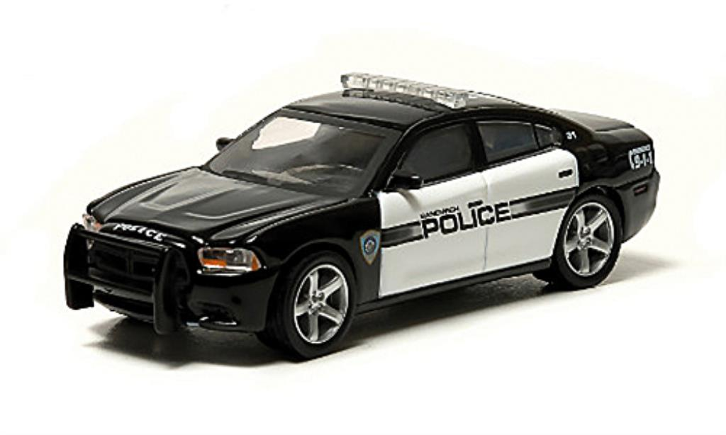 Dodge Charger 1/64 Greenlight Sandwich Massachusetts Police Polizei (USA) 2012 diecast