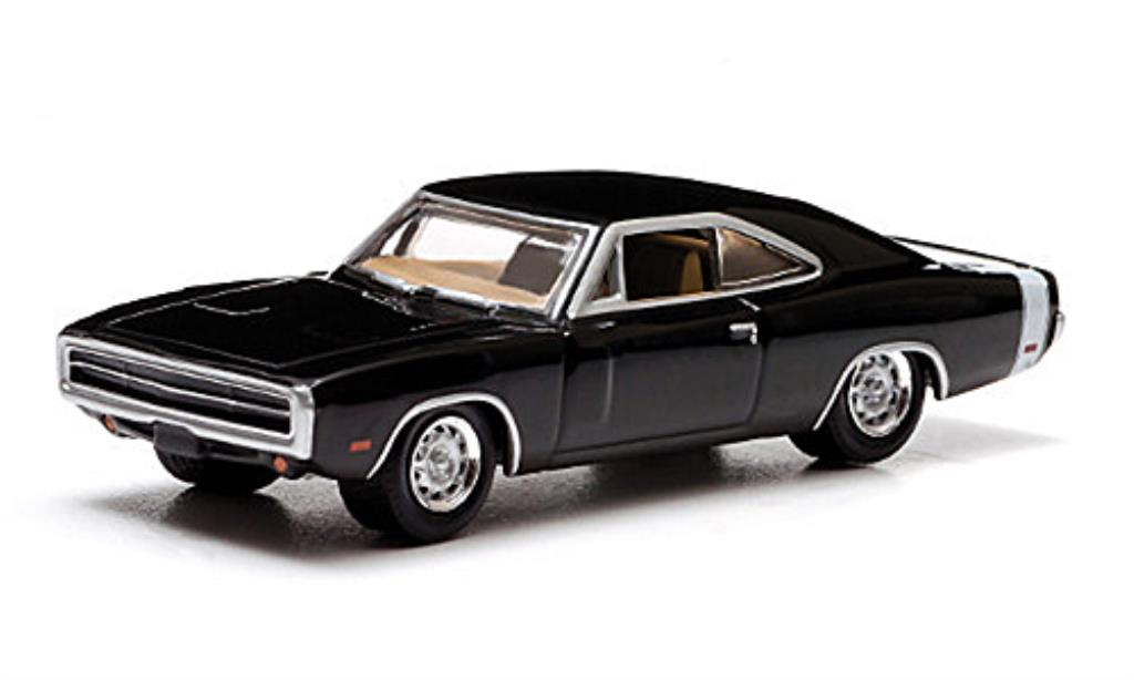 Dodge Charger 1/64 Greenlight black/white Supernatural 1970 diecast