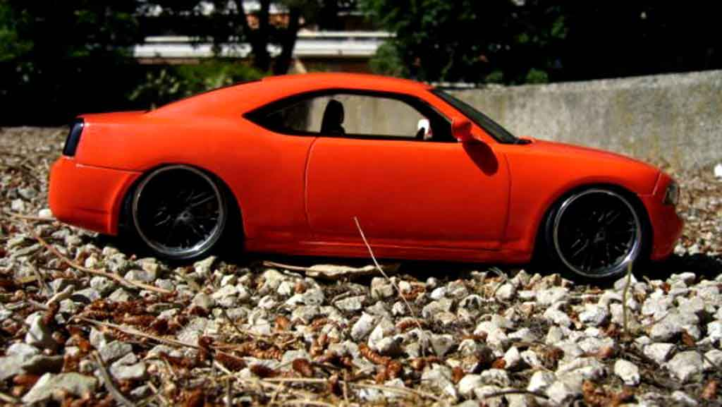 Orange Coast Cadillac >> Dodge Charger Daytona miniature daytona coupe west coast customs sema 2005 Welly 1/18 - Voiture ...