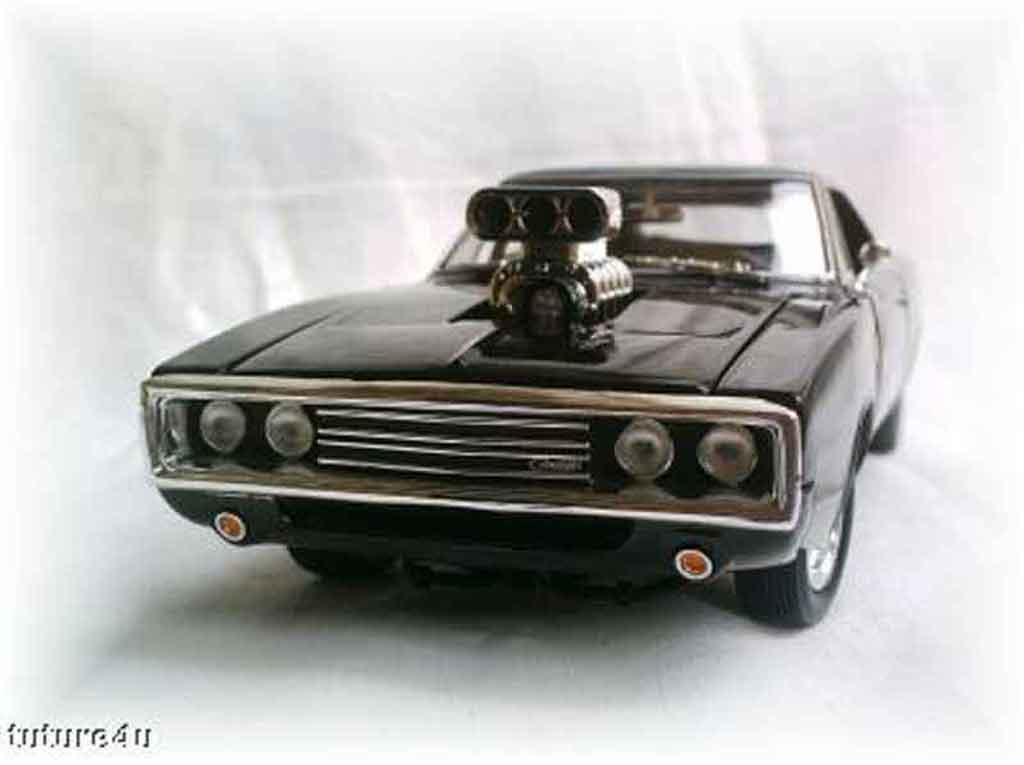 Dodge Charger 1970 1/18 Ertl fast and furious 1 miniature