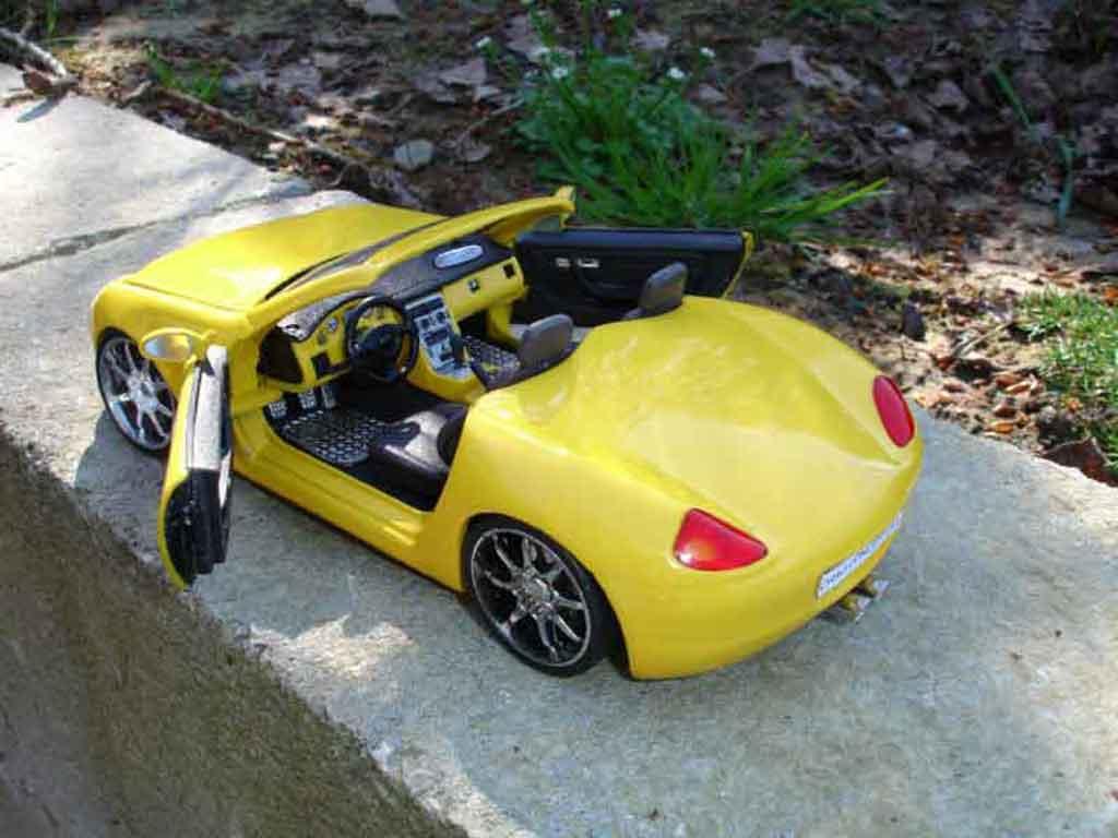 Mercedes Classe SLK 1/18 Maisto prototype concept car boxter
