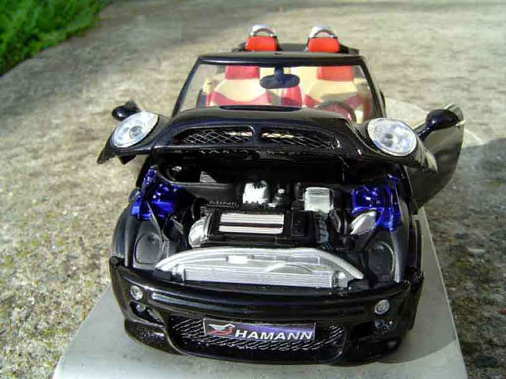 Mini Cabriolet S 1/18 Kyosho s german look