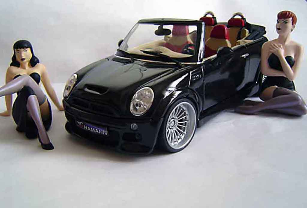 Mini Cabriolet S 1/18 Kyosho s german look tuning miniature