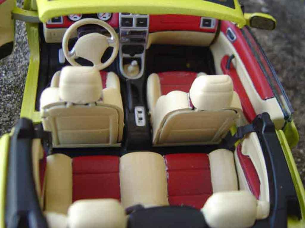 Peugeot 307 CC 1/18 Solido jantes 17 pouces