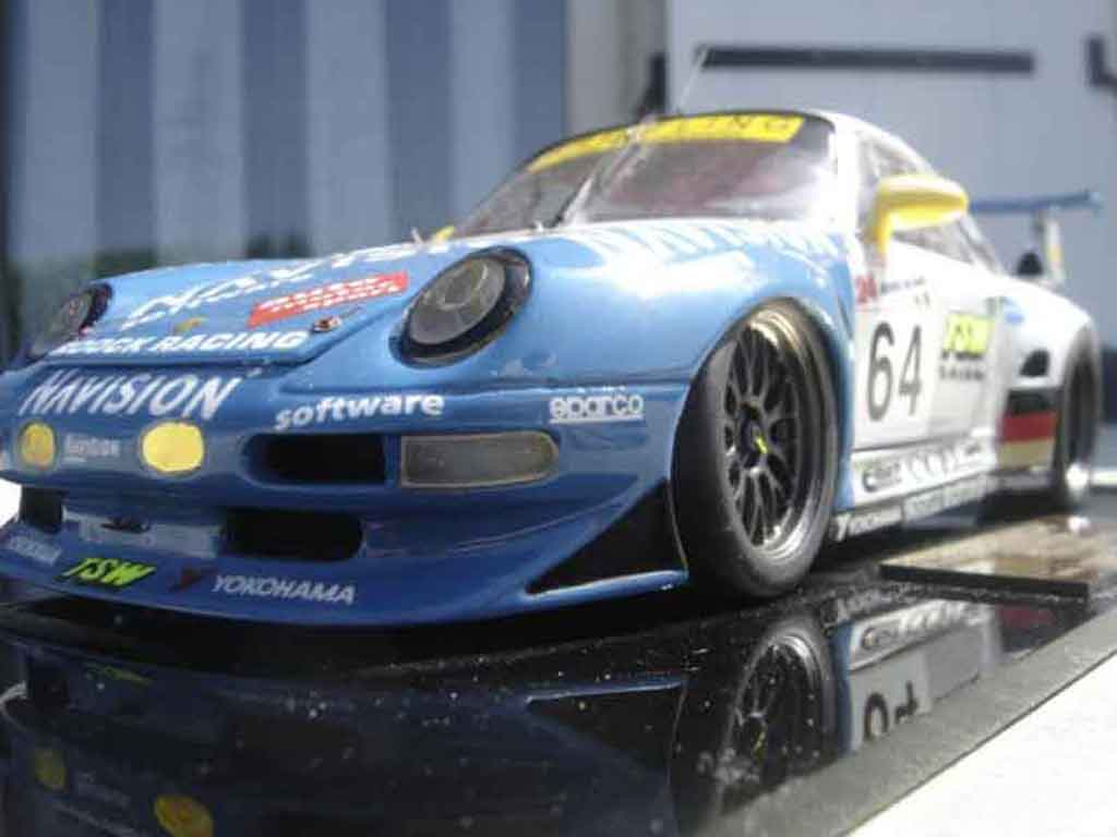 porsche 993 gt2 evo 65 roock racing le mans 98 legende miniatures diecast model car 1 18 buy. Black Bedroom Furniture Sets. Home Design Ideas