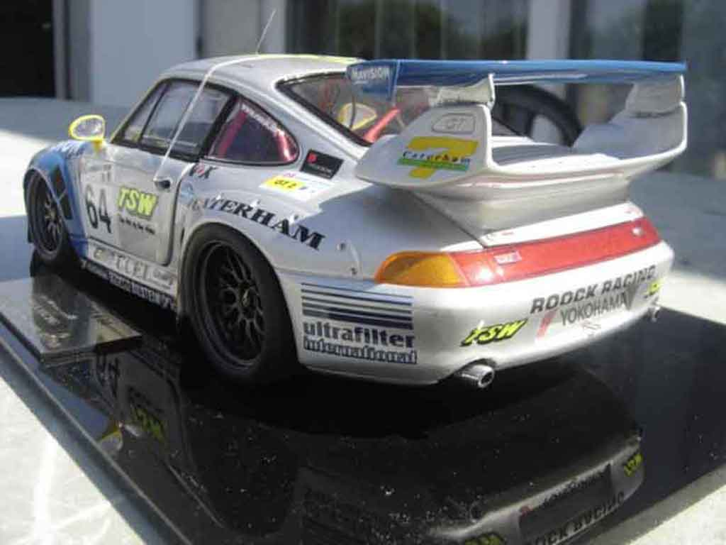 Porsche 993 GT2 1/18 Legende Miniatures evo # 65 roock racing le mans 98 diecast model cars