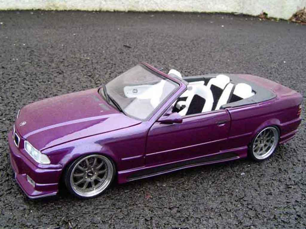 Bmw M3 E36 cabriolet 1/18 Ut Models jantes gmp phares xenon