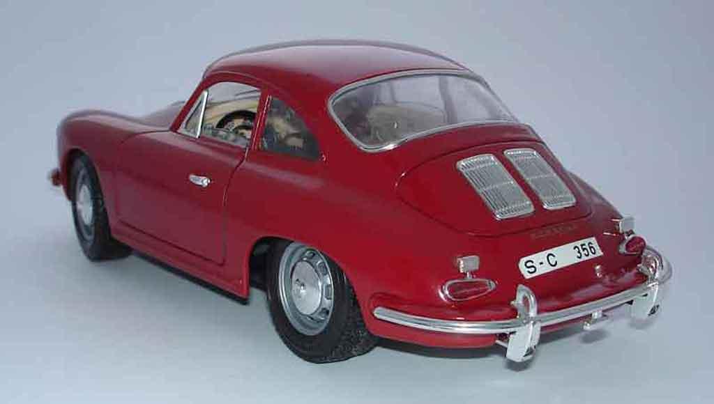 porsche 356 b coupe rot burago modellauto 1 18 kaufen. Black Bedroom Furniture Sets. Home Design Ideas