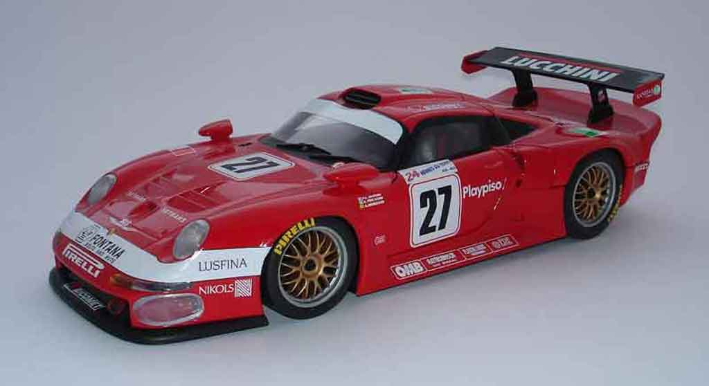 porsche 993 gt1 lucchini le mans 97 27 ut models modellauto 1 18 kaufen ve. Black Bedroom Furniture Sets. Home Design Ideas