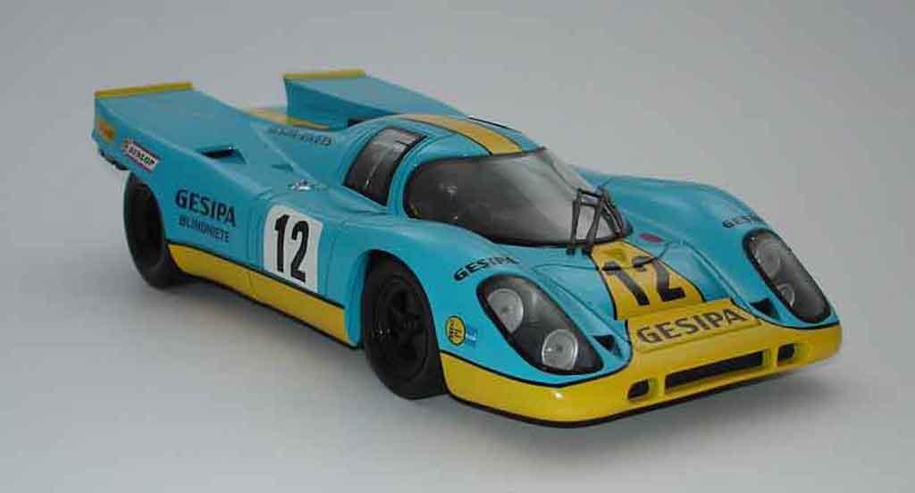 Porsche 917 1970 1/18 Universal Hobbies k team gesipa #12