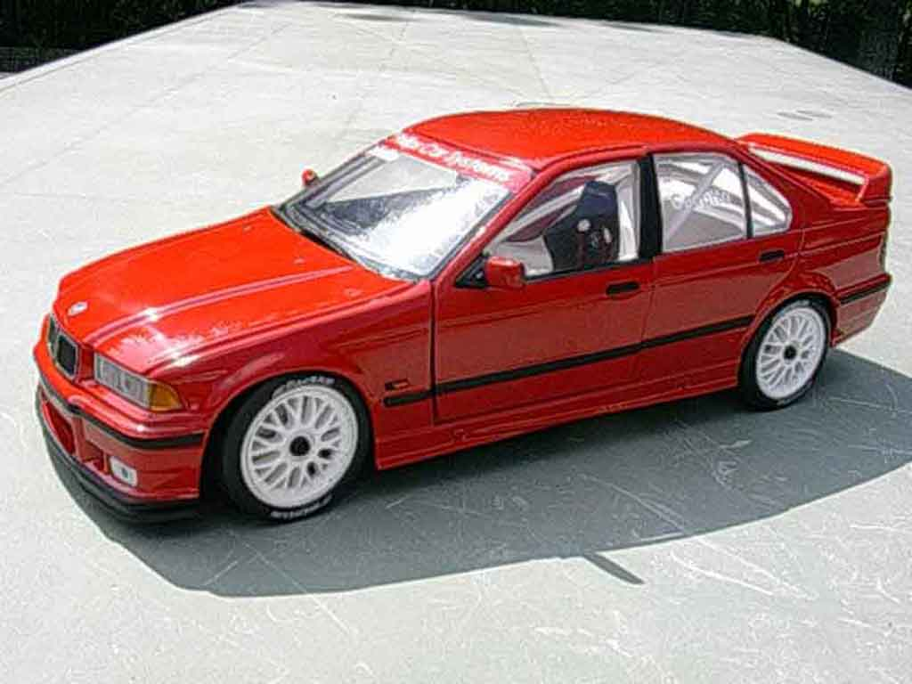 Bmw 318 E36 1/18 Ut Models 1996 street racing arceau baquet tuning miniature