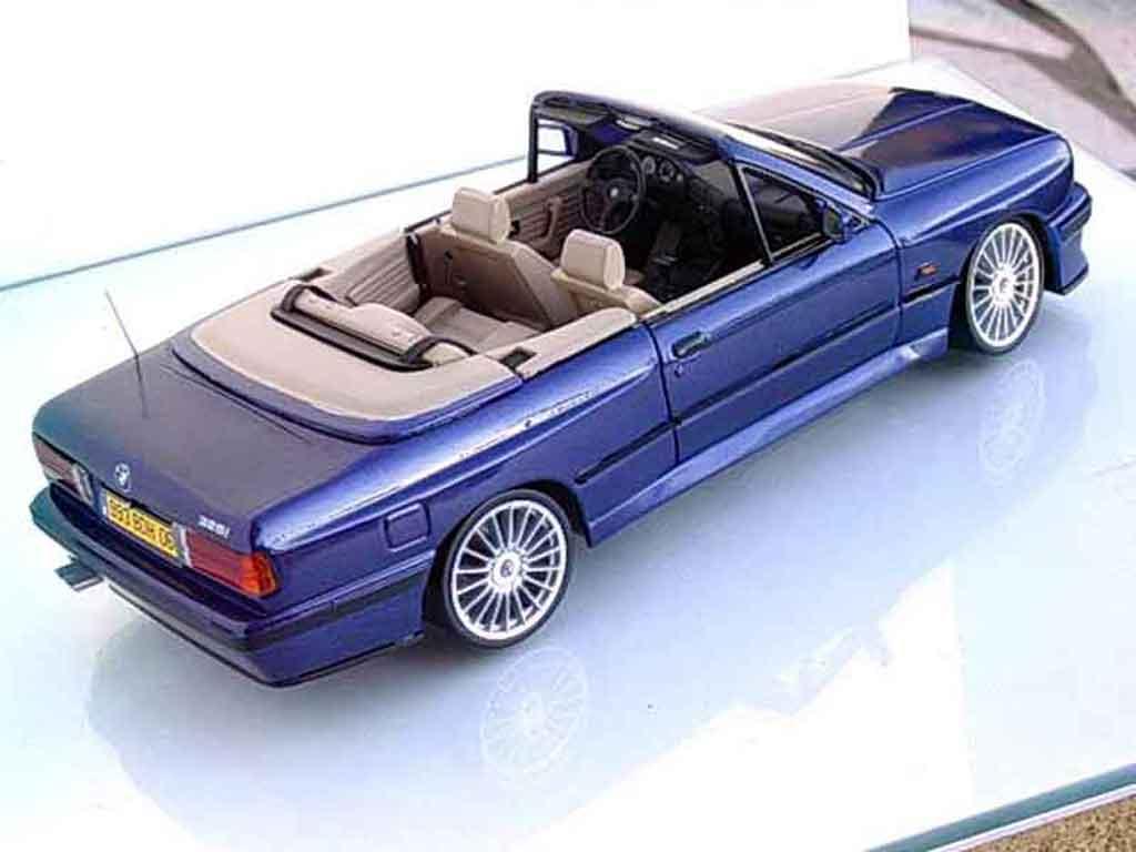 bmw 325 e30 miniature i cabriolet e30 bleu metallized swap. Black Bedroom Furniture Sets. Home Design Ideas
