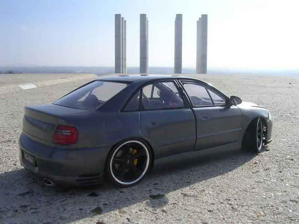 Audi A4 1/18 Ut Models rs turbo techart gris anthracite
