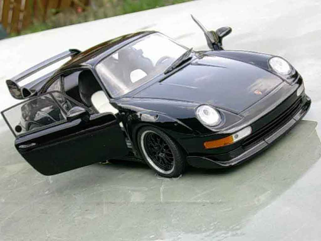 porsche 993 gt2 black evo ut models modellauto 1 18. Black Bedroom Furniture Sets. Home Design Ideas