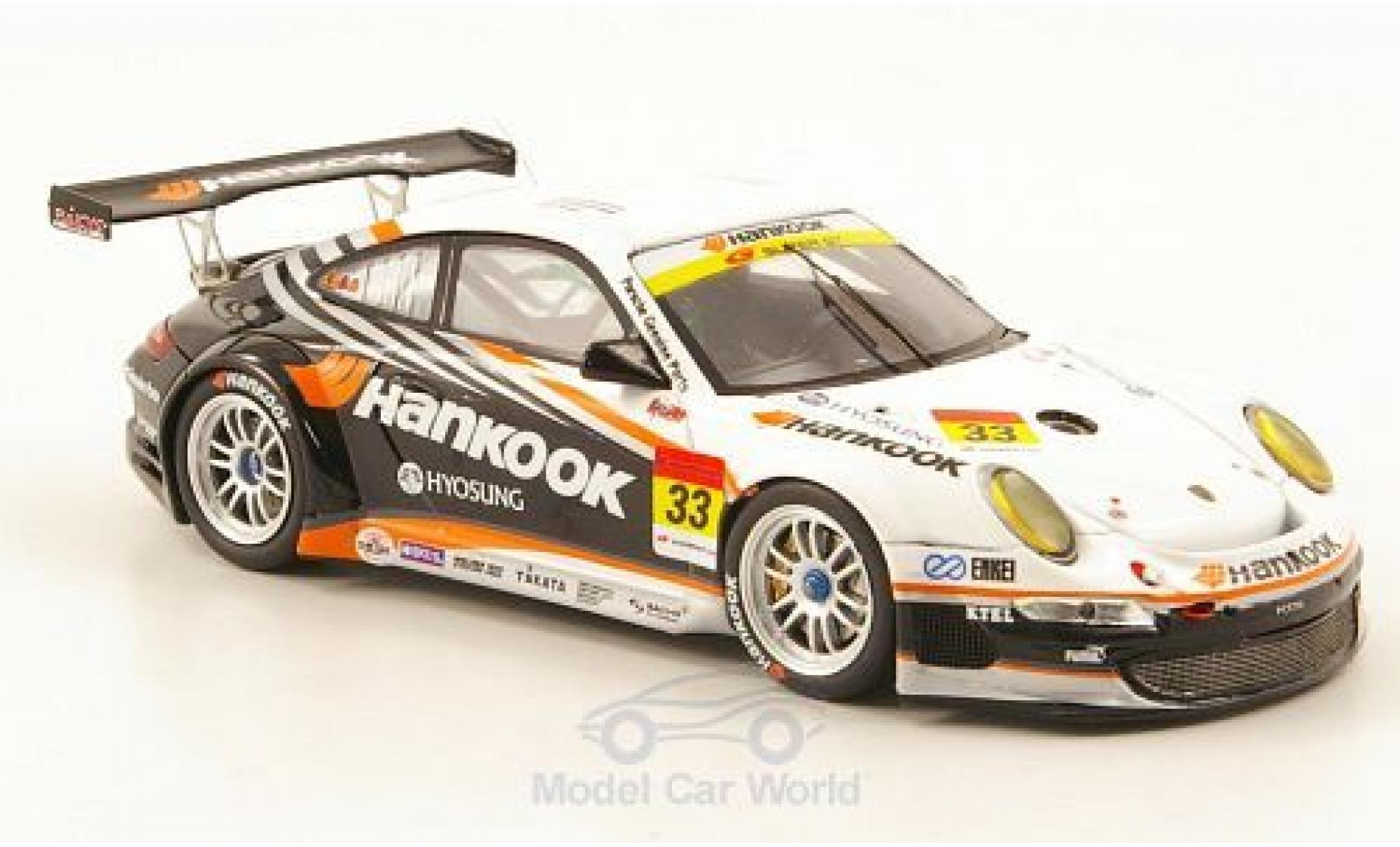Porsche 997 GT3 1/43 Ebbro 911  No.33 Hankook Super 00 2010 M.Kinoshita/M.Kageyama/T.Fujii