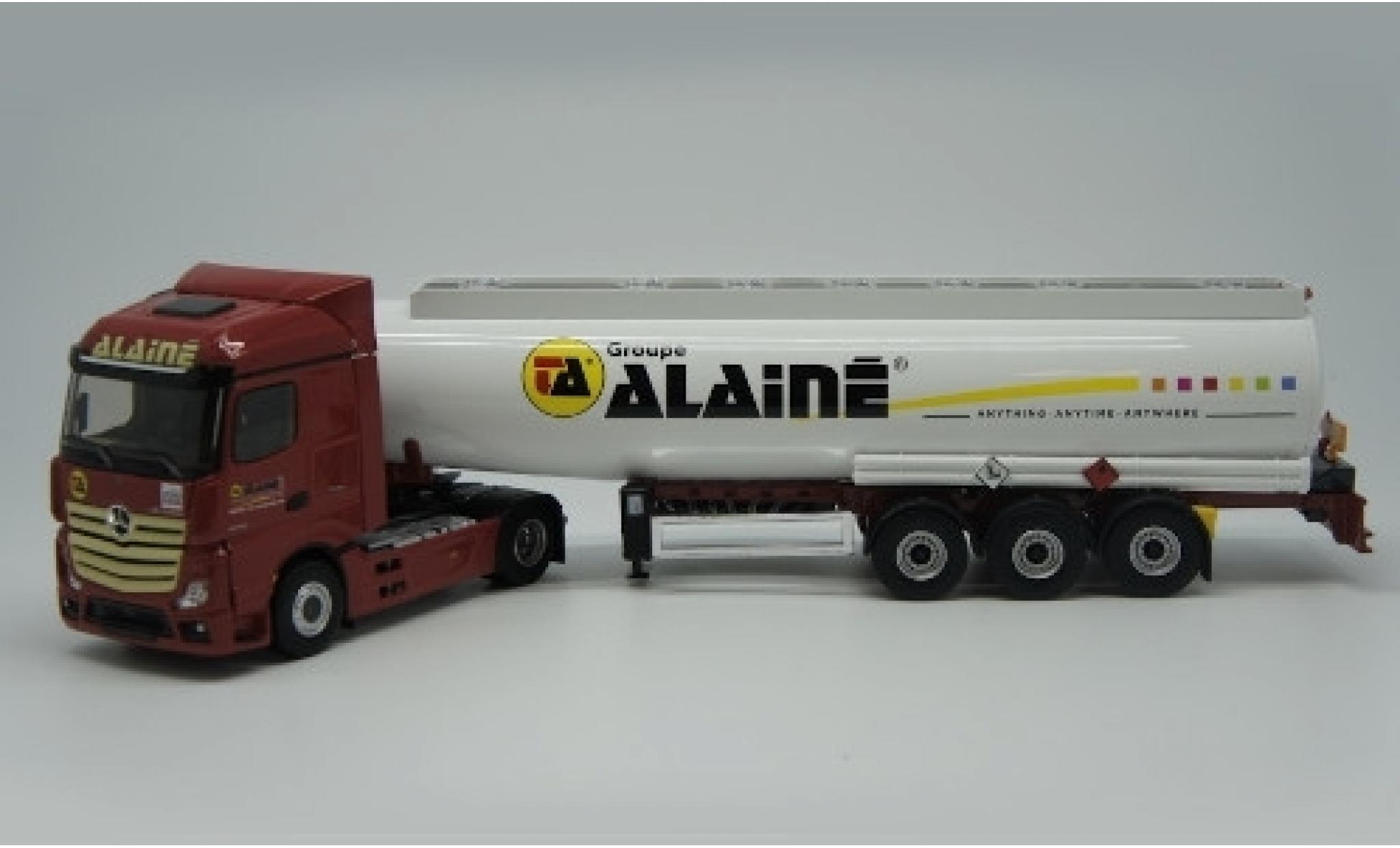 Mercedes Actros 1/43 Eligor 5 Groupe Alaine Tanksatelzug