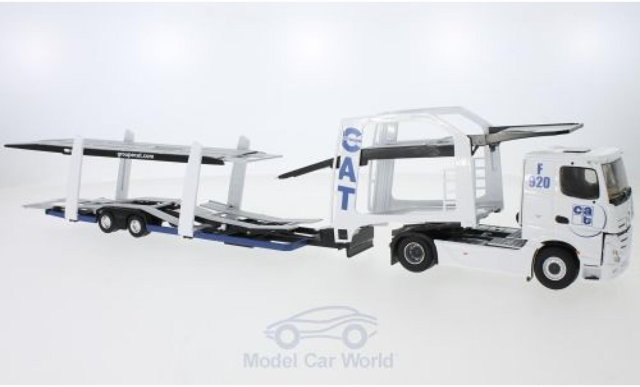 Mercedes Actros 1/43 Eligor 2 CAT Autotransporter