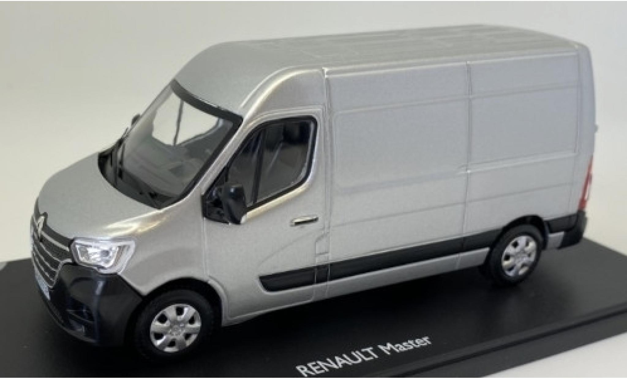 Renault Master 1/43 Eligor Phase 2 metallise grise 2019 fourgon