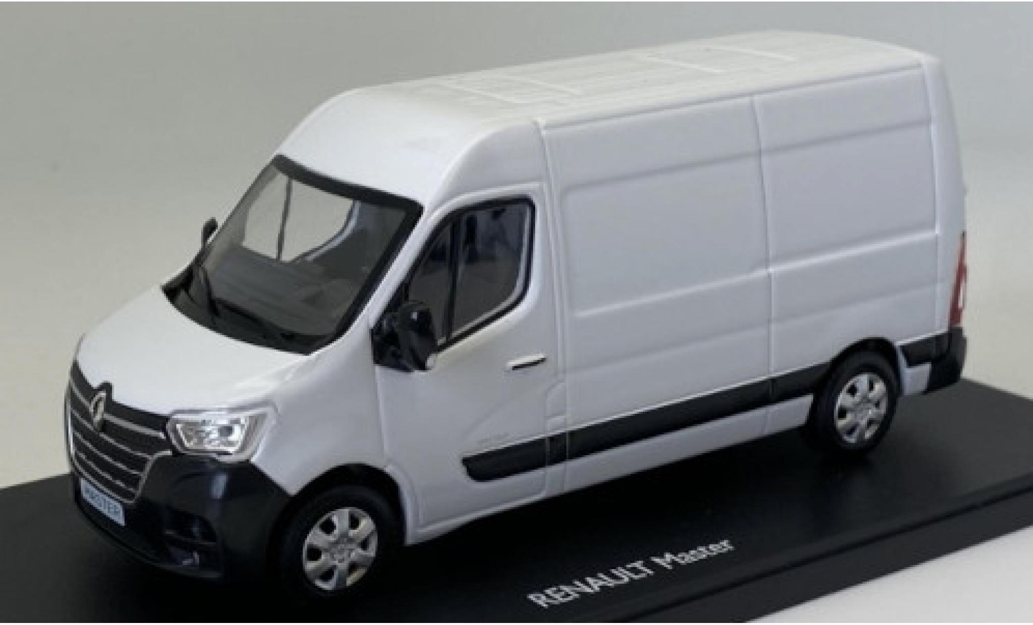 Renault Master 1/43 Eligor Phase 2 blanche 2019 fourgon