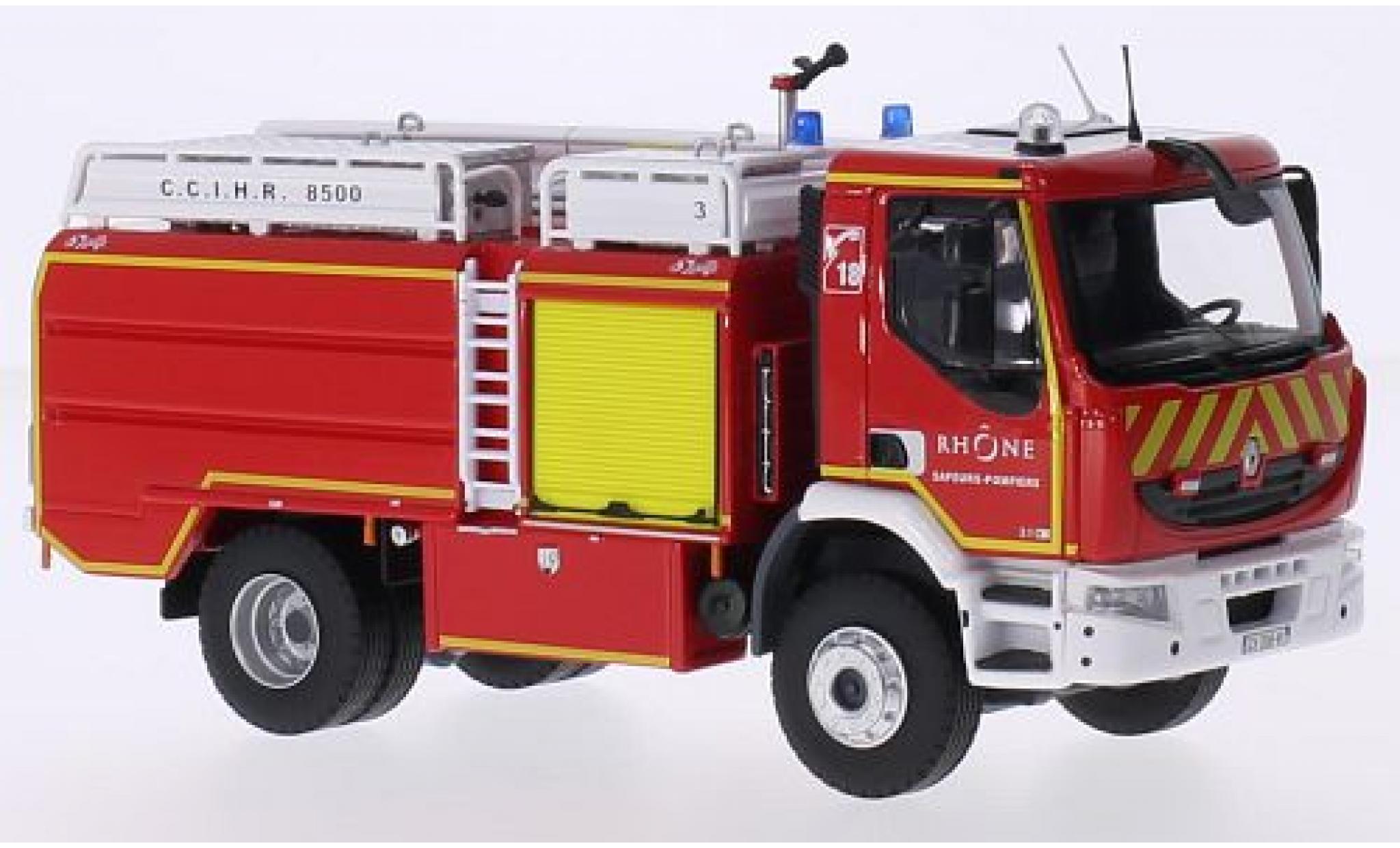 Renault Premium 1/43 Eligor Lander CCIHR 8500 Gallin pompiers (F) sans Vitrine