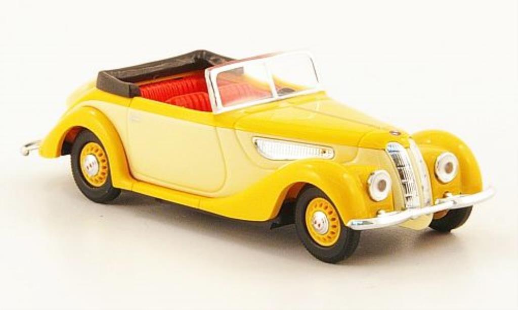 EMW 327 1/87 Busch Cabriolet beig/beige CMD-Ausfuhrung miniature