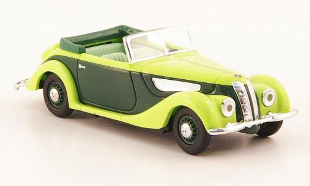 EMW 327 1/87 Busch Cabriolet verte/verte CMD-Ausfuhrung miniature