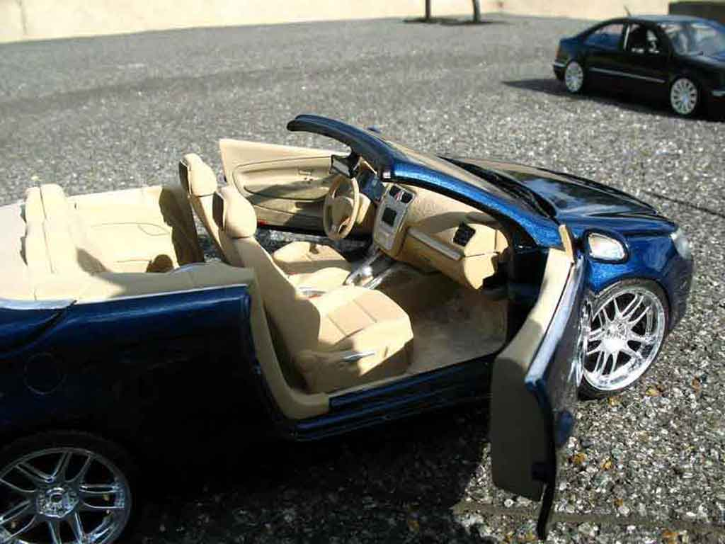 volkswagen eos miniature tuning norev 1 18 voiture. Black Bedroom Furniture Sets. Home Design Ideas