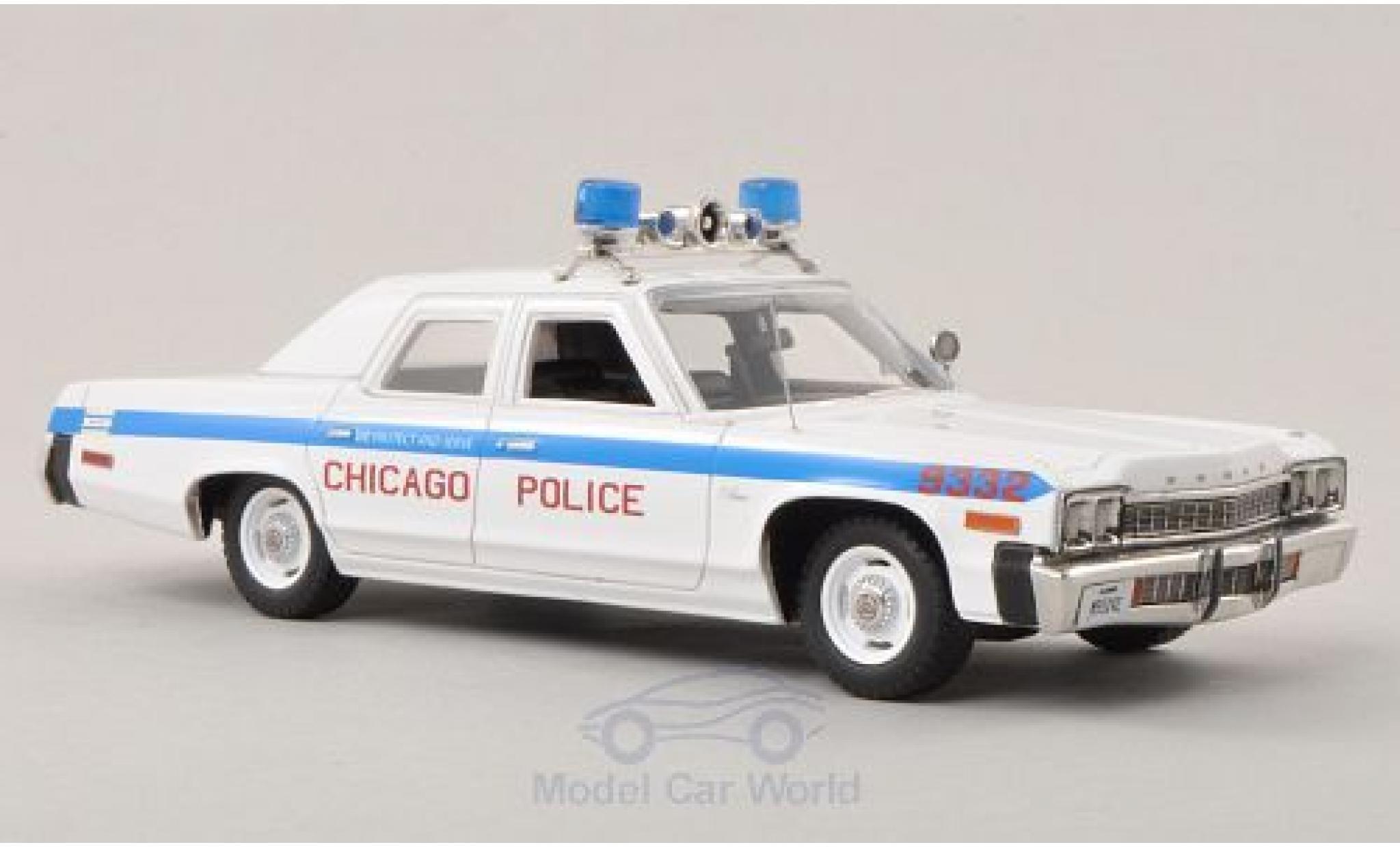 Dodge Monaco 1974 1/43 Ertl Chicago Police