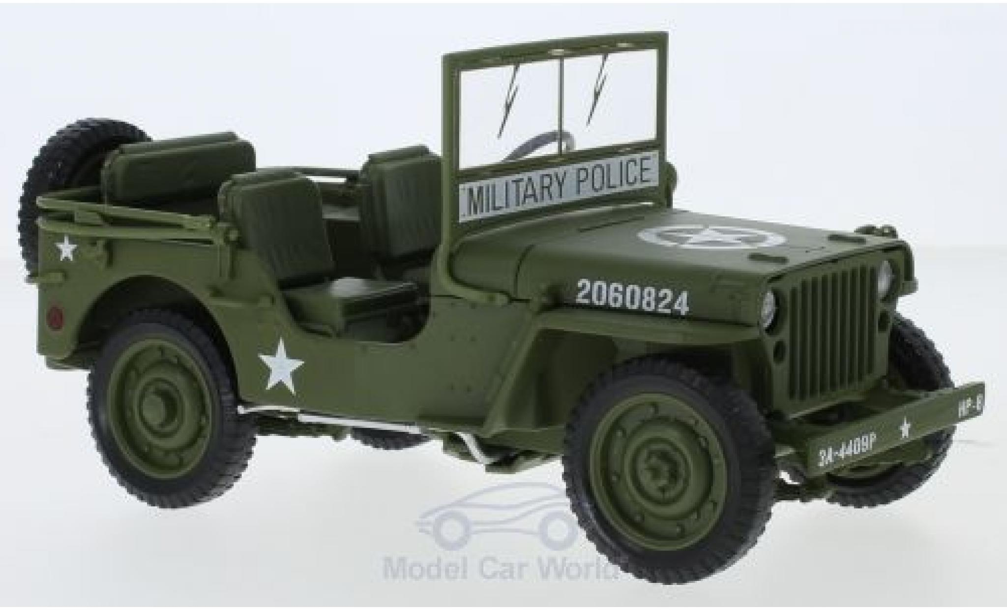 Jeep Willys 1/18 ERTL American Muscle MB oliv 1941