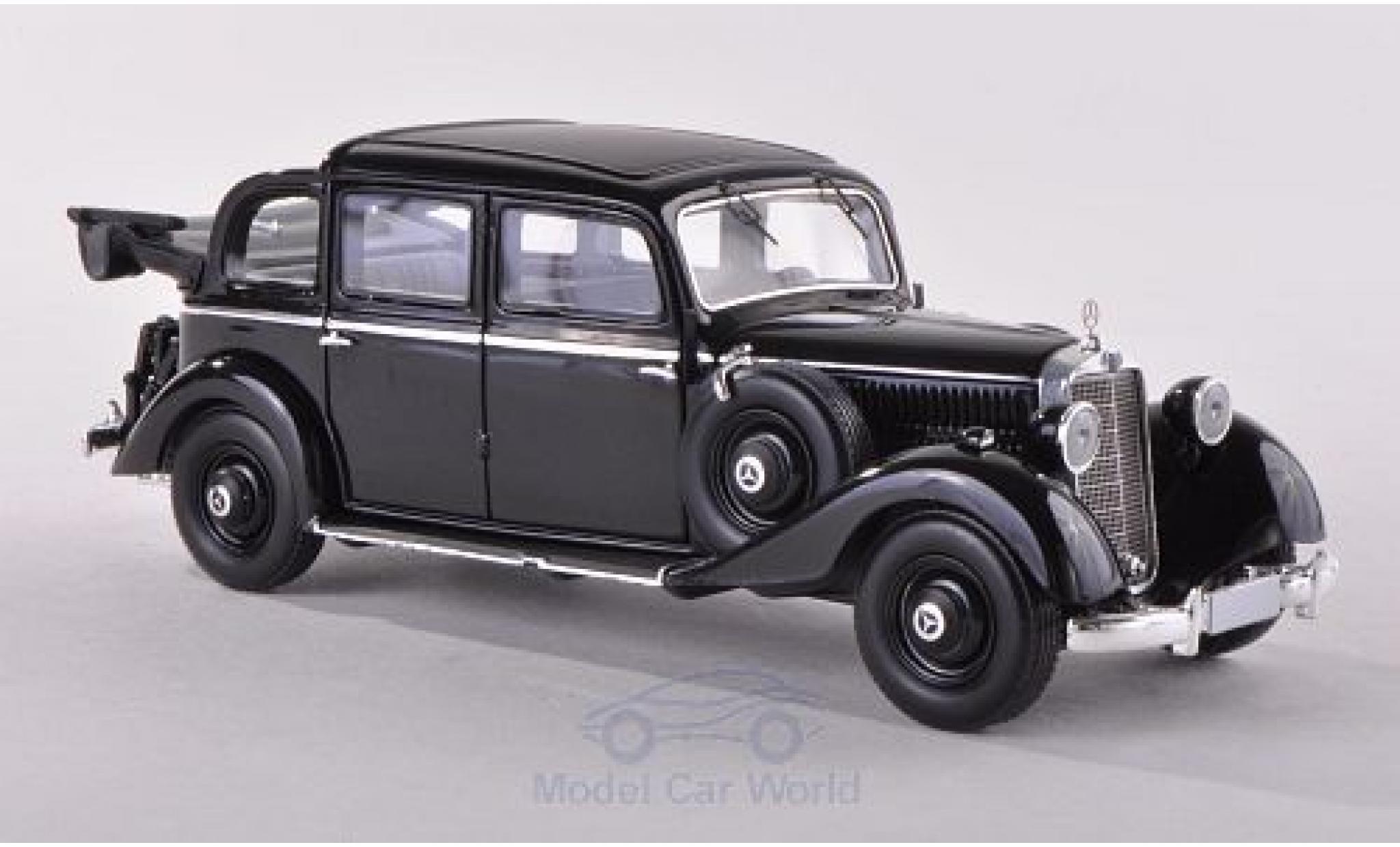 Mercedes 260 1/43 Esval Models D Pullmann Landaulet noire 1936 geöffnet